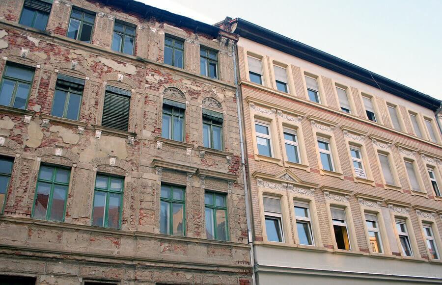 altes Wohnhaus Leipzig