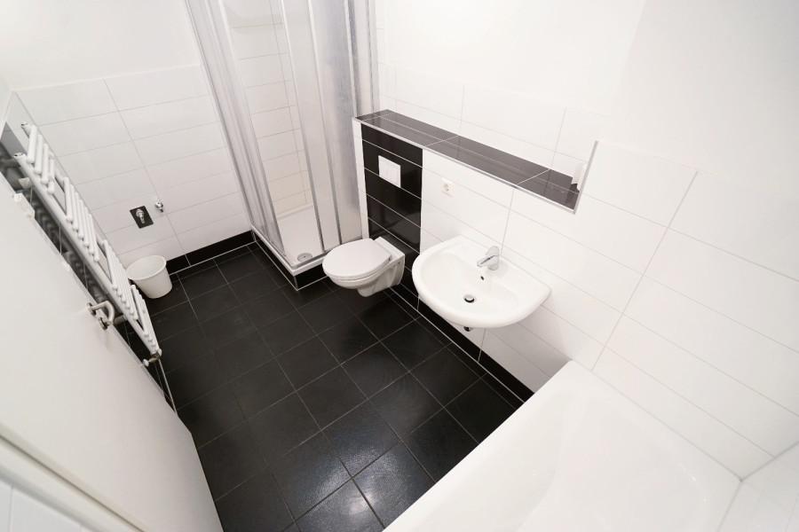 Badezimmer Referenzbild